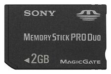 Memory Stick PRO Duo * 2 GB * SONY