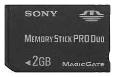 Memory Stick Pro Duo * 2 GB * Sony