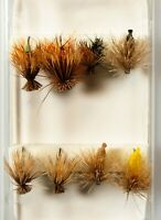 Elk Caddis Fly Fishing Fly Assortment- 8 pcs 	NP-27 FLIES
