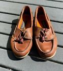 Timberland Women's Classic tan Boat Shoes Size 7 Leather Flat sole Loafer
