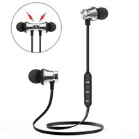 For Samsung iPhone LG Wireless Bluetooth Stereo Headset Headphone Sport Earphone