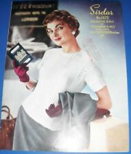 Sirdar Vintage Womens Sweater Knitting Pattern 1672