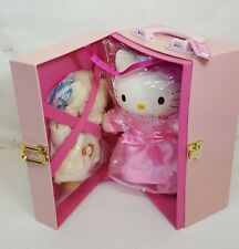 Vtg 1999 Sanrio HELLO KITTY Dress Up PRINCESS Vinyl Doll w WARDROBE Japan NEW