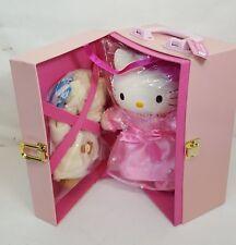 Vtg 1999 Sanrio HELLO KITTY Dress Up PRINCESS Vinyl Doll w WARDROBE Japan NEW