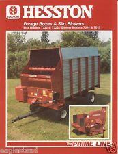 Farm Equipment Brochure - Hesston - 7322 et al - Forage Box Silo Blower (F1346)