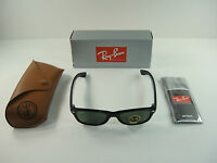 AUTHENTIC RAY-BAN NEW WAYFARER SUNGLASSES RB2132 901L BLACK/G-15 LENS 55MM NEW!