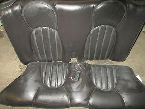 1998-1999-2000-2001-2002-2003 JAGUAR XK8 REAR SEATS BLACK