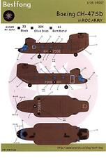 Bestfong Decals 1/35 BOEING CH-47SD CHINOOK Chinese Army
