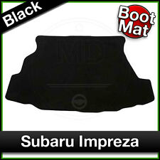 Tailored Fitted Carpet Boot Mat SUBARU IMPREZA 2000 to 2005 Black