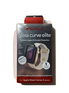 Zagg InvisibleShield Glass Curve Elite Protector Apple Watch Series 4 -44mm