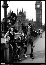 Kiss Poster Londres 1976