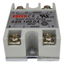 (1 PC) FOTEK Solid State Relay FOTEK-SSR-100DA (3-32V D/C Coil Input) 100A/250V