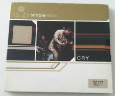 SIMPLE MINDS - CRY CD ALBUM 2002 DIGIPACK SLIPCASE EDIZIONE LIMITATA N. 50277