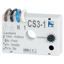 Zeitschalter für Ventilatoren Lüfter Nachlaufrelais CS3-1
