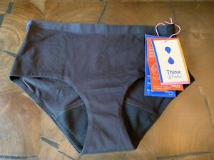 NWT Thinx BTWN Shorty That Absorbs Your Period Black Size 15-16 Year For Teens