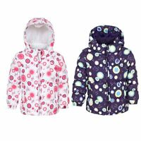 Trespass Janet Baby Windproof Hooded Casual Coat Padded Waterproof Girls Jacket