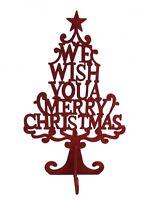 Gisela Graham Glitter Tree Christmas Decoration - Free Standing Decoration