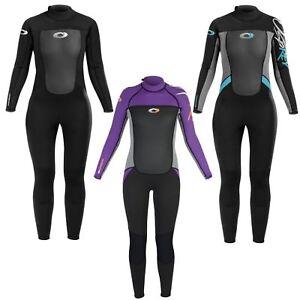 Osprey Wetsuit Womens 3mm Origin Adult Full Length Neoprene Ladies Wet Suit