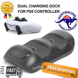 For Sony PS5 Controller Charger Dock Station Dual USB Fast Charging Playstation