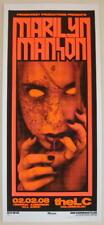 2008 Marilyn Manson - Columbus Silkscreen Concert Poster S/N by Mike Martin