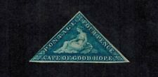 Cape of Good Hope 1863-64 4d Deep Blue MINT OG S.G. 19 CV L300+