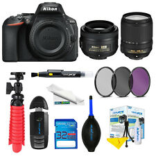 Nikon D5600 18-140mm f/3.5-5.6G ED VR+AF-S Nikkor 35mm f/1.8G+ Expo Advanced Kit