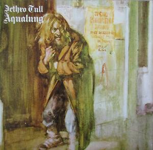 "JETHRO TULL ""Aqualung"" LP (202 659-320), Gatefold + Textured Cover, Near Mint"