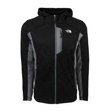 The North Face Men's 100 Cinder Full Zip Hoody Jacket TNF Black/Grey Heather M