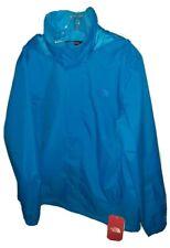 Mens Large NORTH FACE DryVent BLUE Waterproof Rain Gear, Full-Zip Jacket