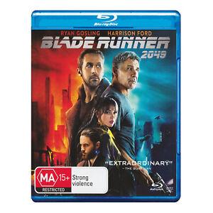 Blade Runner 2049 Blu-ray New Region B - Ryan Gosling, Harrison Ford - Free Post
