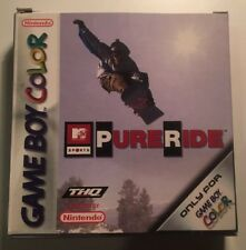MTV SPORTS PURE RIDE Nintendo GameBoy Color Complete European Game 2000 GBC GBA