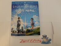 * New * Your Name - Blu-Ray + DVD Combo Pack w/ shiny Slip-Cover (Kimi no Na Wa)