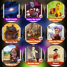 9 Rare Cards ###  Coin Master  Cards ### Fastest Delivery