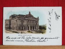 Farblitho - Brünn / Brno - Stadttheater - gel 1900