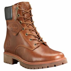 "Timberland Jayne 6"" Inch Waterproof Boots Women (Size 6.5 - 9) Medium Brown"