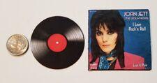 Miniature record album Barbie Gi Joe 1/6  Playscale  Action Figure Joan Jett
