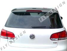 VW Golf VI 6 Spoiler de Techo Alerón Dachkannte Trasero Delantal Lip Abertura