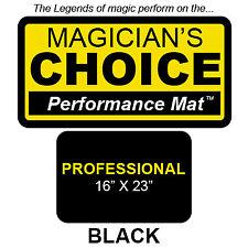 Ronjo Magic, Inc. Professional Close-Up Mat BLACK - 16x23 by Ronjo magic trick