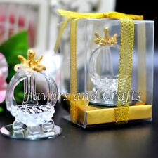 12 Quinceanera Favors Recuerdos Cinderella Glass Carriage Mis XV Sweet 15 16