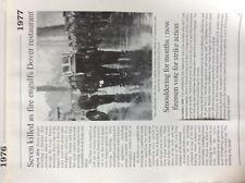 Da2 Ephemera Artikel Reprint 1977 Nachdruck Fire Crypt Taverne Dover