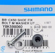 Shimano Cyclocross Cantilever Brake BR-CX50/CX70 Shoe Fixing Bolt (M) & R-Washer