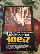Bruce Springsteen- Lucky Town World Tour 1992 Meadowlands Arena NJ Sticker