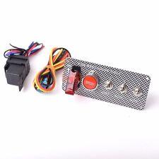 12V Red LED Car Keyless Engine Start Push Button Switch Ignition Starter Boat
