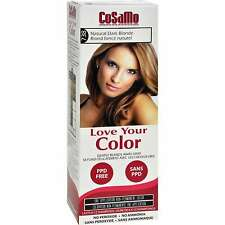 Cosamo Love Your Color Non-Permanent Hair Color #738, Natural Dark Blonde