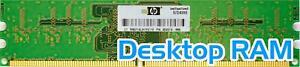 HP (404574-888) 1GB PC2-6400U (DDR2-800Mhz, 1RX8) Ungepuffert RAM