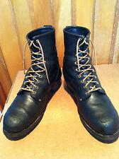 Rare Vintage Georgia Steel Toe Logging Boots !!  Made in USA  !!!!!!  sz 13