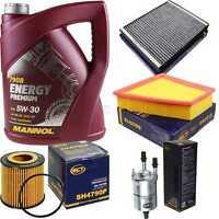 Ölwechsel Set 5L MANNOL Energy Premium 5W-30 Motoröl + SCT Filter KIT 10754664