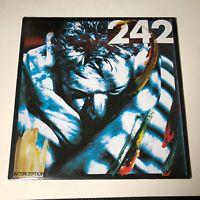 "Front 242 - Interception (2 Tracks) - 12"" Vinyl Single - Wax Trax! 1986!"