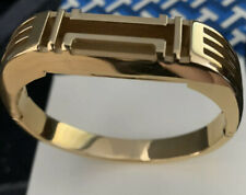 NEW Without Tags Tory Burch Metal Hinged Bracelet for Fitbit NO BOX