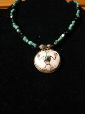 QVC Zuni Design Turquoise Necklace